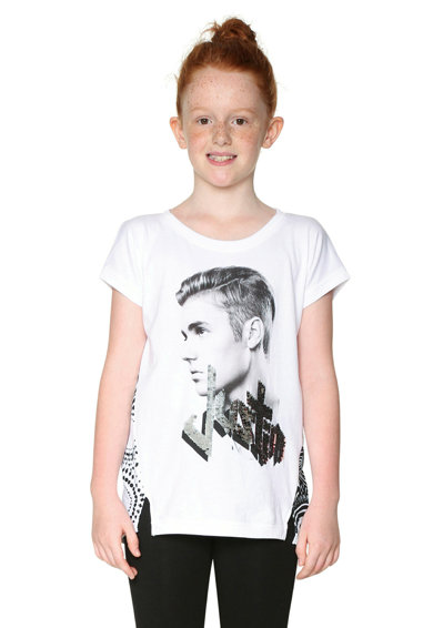 DESIGUAL Тениска с фотопринт Момичета