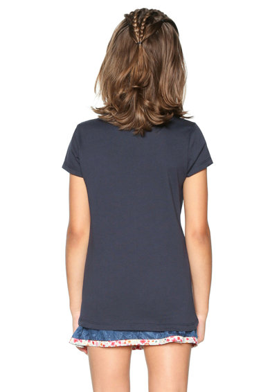 DESIGUAL Тениска с двулицеви пайети Момичета