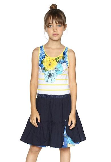 DESIGUAL Bővölő ruha csillámos szegélyekkel Lány