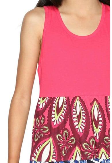 DESIGUAL Разкроена рокля без ръкави Момичета