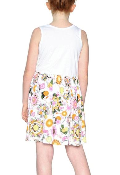 DESIGUAL Mintás rövid ruha Lány