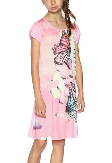 DESIGUAL Разкроена рокля с набирания Момичета