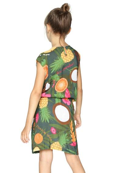 DESIGUAL Egyenes fazonú ruha rugalmas derékkal Lány