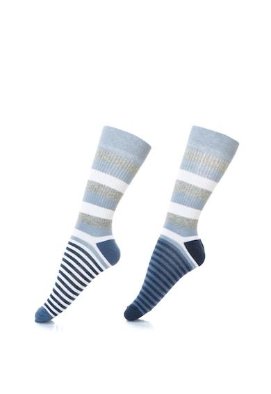 Pepe Jeans London Раирани чорапи Ellery - 2 чифта Мъже
