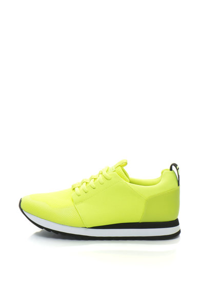 G-Star Raw Pantofi sport de piele sintetica cu insertii din plasa Deline Barbati