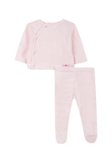 Absorba Set de bluza si pantaloni cu botosei - 2 piese Fete