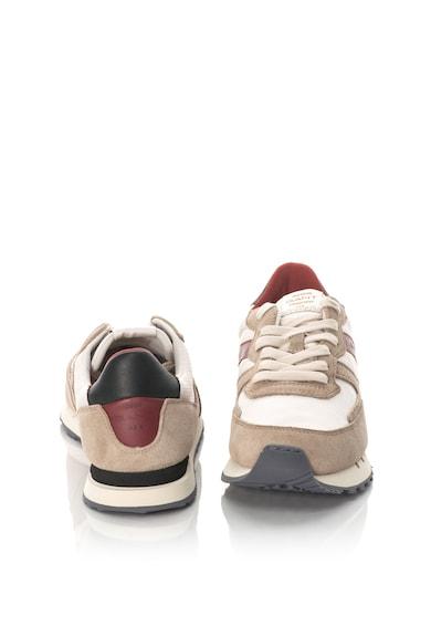 Gant Pantofi sport cu garnituri de piele intoarsa Duke Barbati