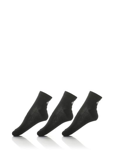 Asics Uniszex rövid sportzokni - 3 pár női