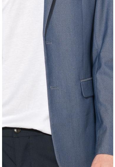 United Colors of Benetton Slim fit alkalmi zakó férfi