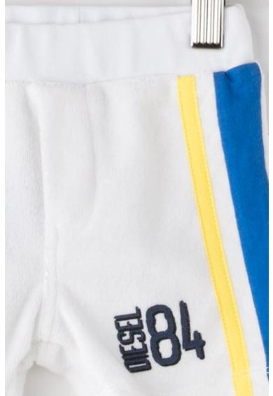 Diesel Pantaloni scurti din material terry cu talie elastica Pamub Baieti