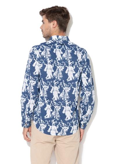 DESIGUAL Риза Kristo с фигурален десен Мъже