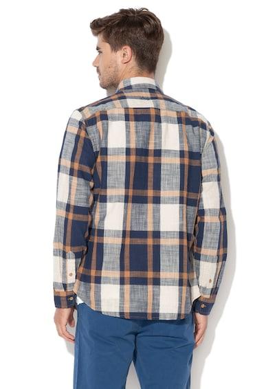 DESIGUAL Карирана риза Iker с джобове на гърдите Мъже