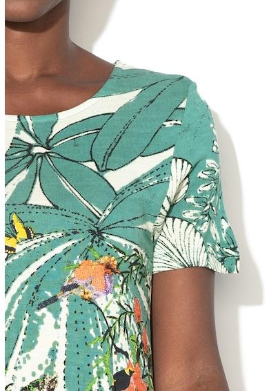 DESIGUAL Rövid ujjú virágmintás ruha női