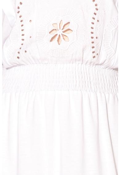 DESIGUAL REALLY LOVE Lyocell tartalmú bővülő ruha kivágásokkal női