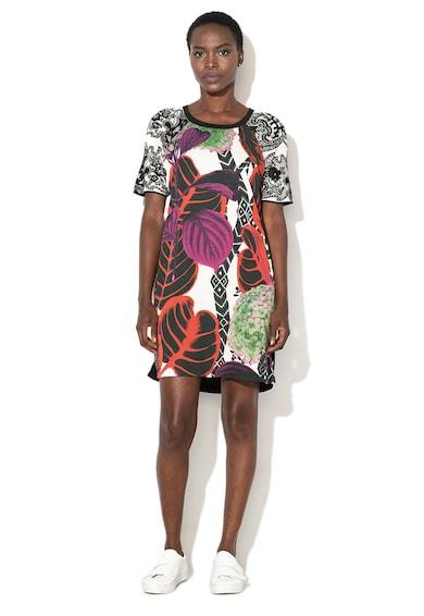 DESIGUAL Lucia egyenes mintás ruha női