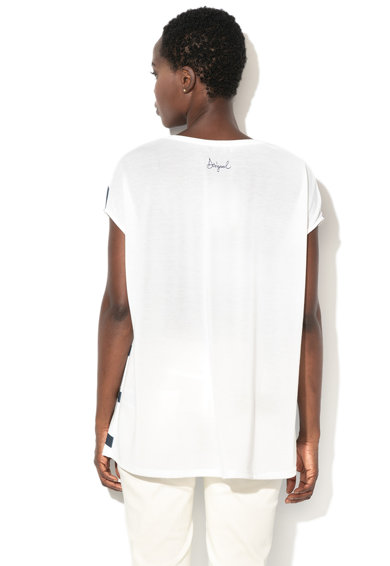 DESIGUAL Тениска Unforgetable на райе Жени