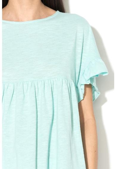 Undercolors of Benetton Bluza de pijama supradimensionata cu maneci cu volane Femei