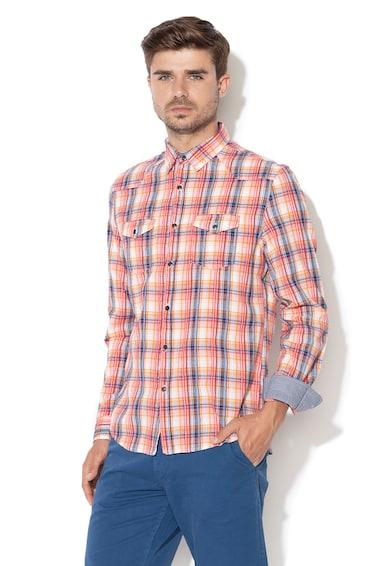 DESIGUAL Карирана риза Leo Мъже
