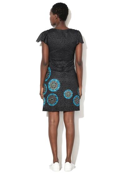 DESIGUAL Къса рокля Dafne с фигурален десен Жени