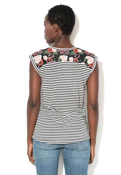 DESIGUAL Тениска Hudson с модал и полуръкави Жени