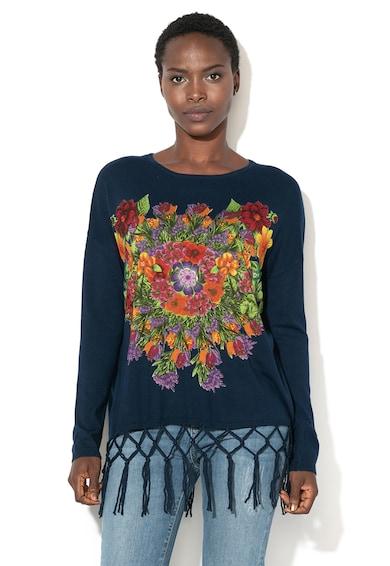 f0e229b81d DESIGUAL Pulover din tricot fin cu imprimeu floral Paradise Femei