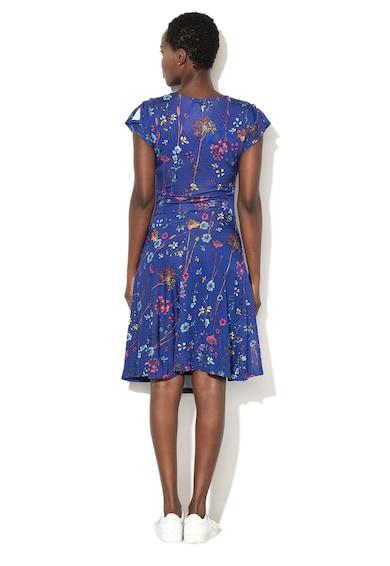 DESIGUAL Raki virágmintás ruha aszimmetrikus alsó szegéllyel női