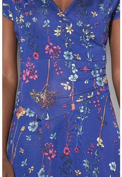 DESIGUAL Rochie cu model floral si terminatie asimetrica Raki Femei