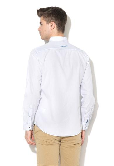 DESIGUAL Regular Fit hajszálcsíkos ing férfi