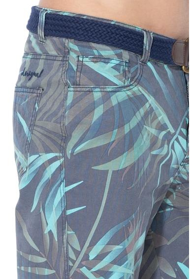 DESIGUAL бермуди GERARD с десен на листа Мъже