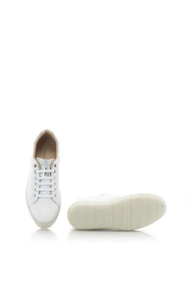 Diesel Pantofi sport flatform de piele cu insertii cu model reptila S-ANDYES Femei