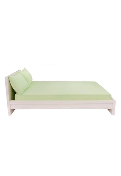 Home Still Комплект Долен чаршаф + 2 Калъфки за възглавници  160x200 cм, Зелен Мъже