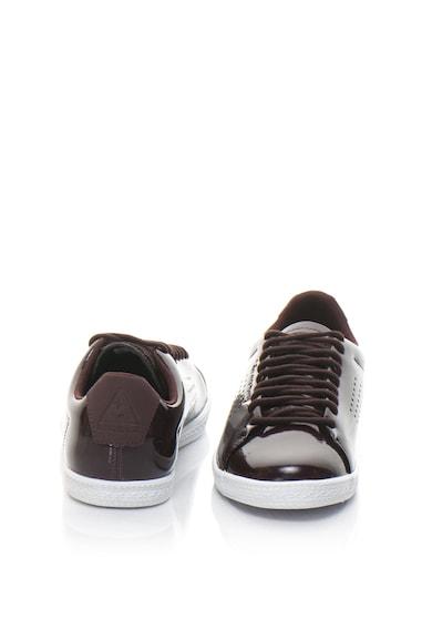 Le Coq Sportif Лачени спортни обувки Charline от еко кожа Жени