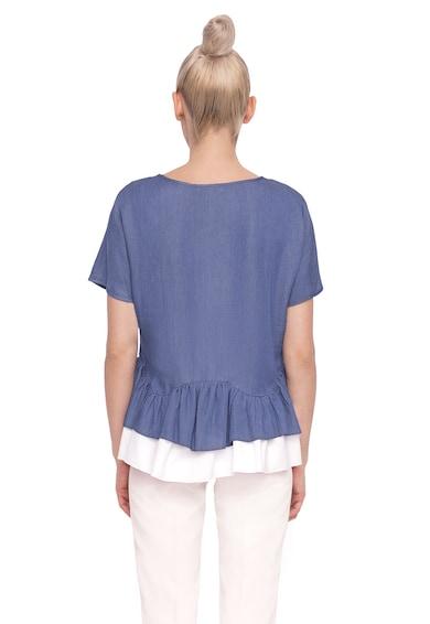 NISSA Bluza din chambray cu peplum Femei