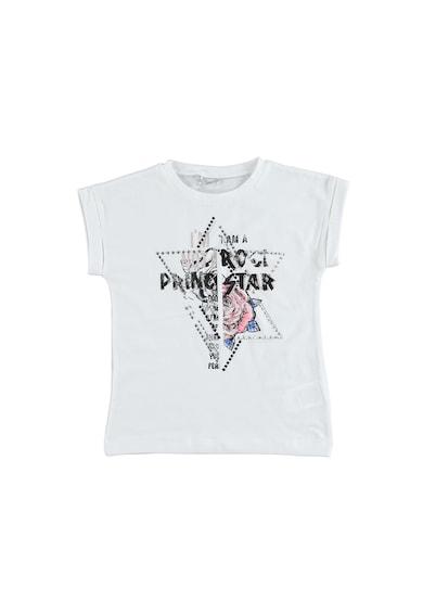 Sarabanda Тениска с овално деколте и капси Момичета