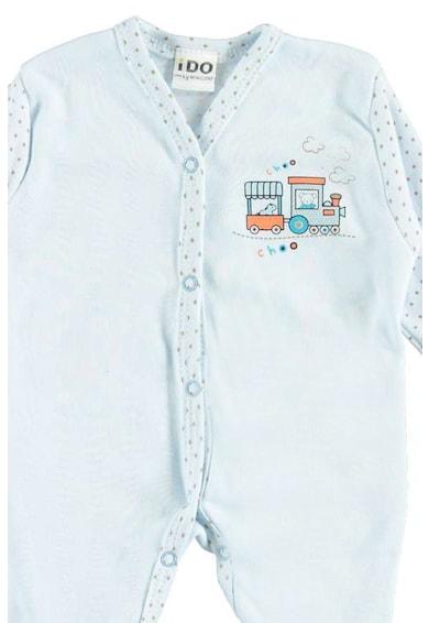 iDO Kids Комплект от боди, гащеризон, шапка и чорапи за недоносени бебета Момчета