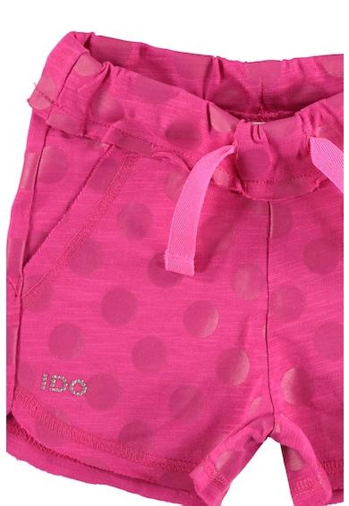 iDO Kids Pantaloni scurti cu buline si snur pentru ajustare in talie Fete