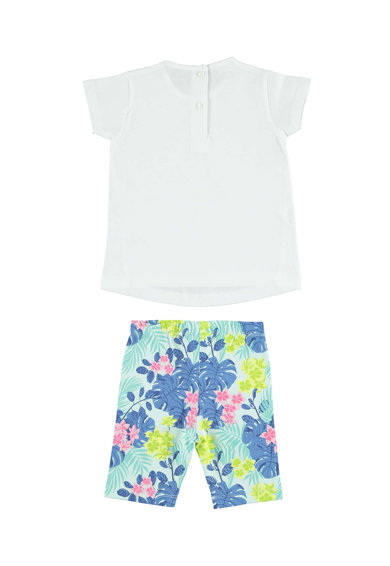 iDO Kids Set de tricou cu model si colanti Fete