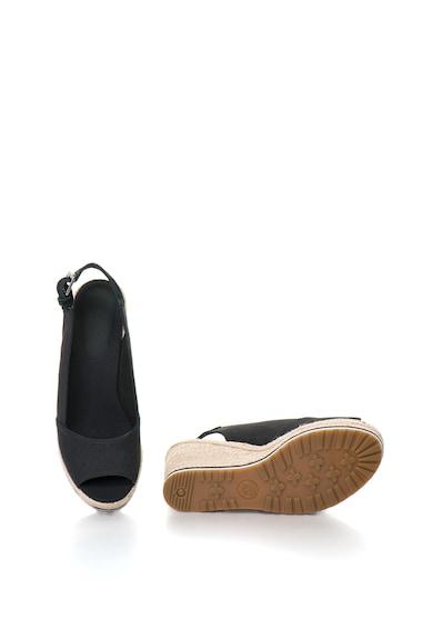 Timberland Sandale slingback, wedge, tip espadrile, cu garnituri de piele intoarsa Nice Coast Femei