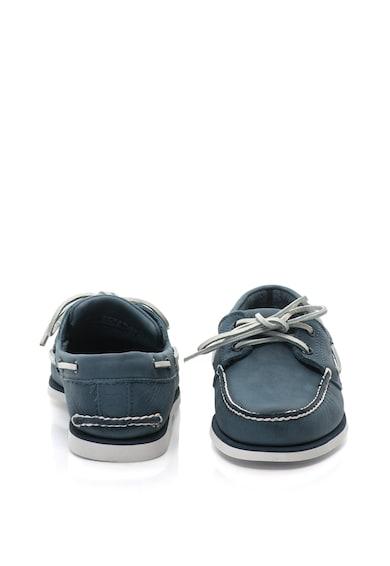 Timberland Pantofi loafer din piele cu cusaturi contrastante Barbati