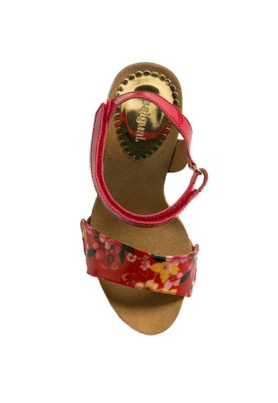 DESIGUAL Samba Microrapport magas sarkú szandál női