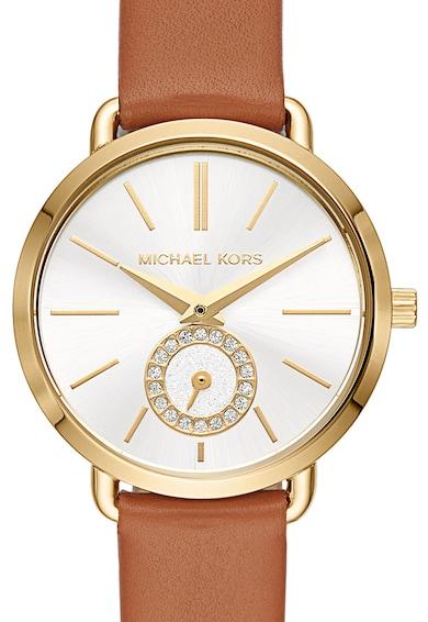 Michael Kors Portia bőrszíjas karóra női