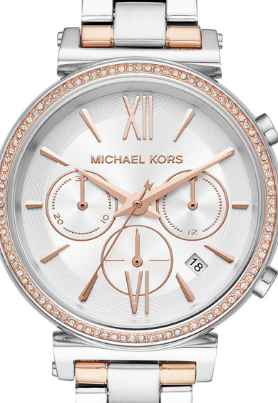 Michael Kors Sofie 2-Tones chrono karóra fémszíjjal női