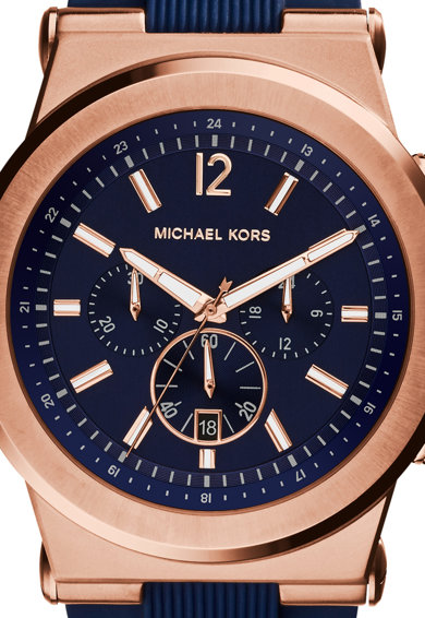 Michael Kors Ceas cronograf cu o curea din silicon Dylan Barbati