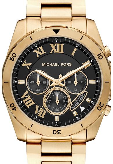 Michael Kors BRECKEN fémszíjas chrono karóra férfi