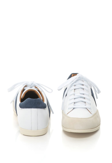 Polo Ralph Lauren Price bőr sneakers cipő nyersbőr anyagbetétekkel férfi