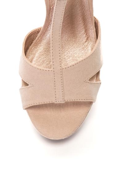 Bullboxer Sandale de piele intoarsa sintetica cu toc inalt Femei