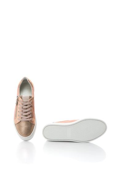 Bullboxer Pantofi sport din piele cu fermoare decorative Femei
