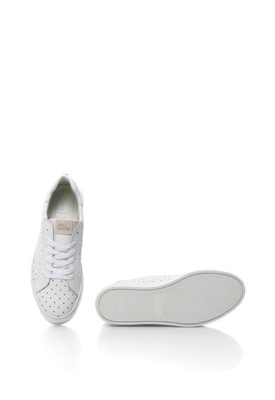 Bullboxer Pantofi sport din piele cu design perforat Femei