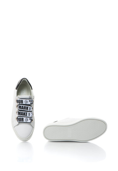 Bullboxer Pantofi sport din piele cu sireturi cu imprimeu grafic Femei