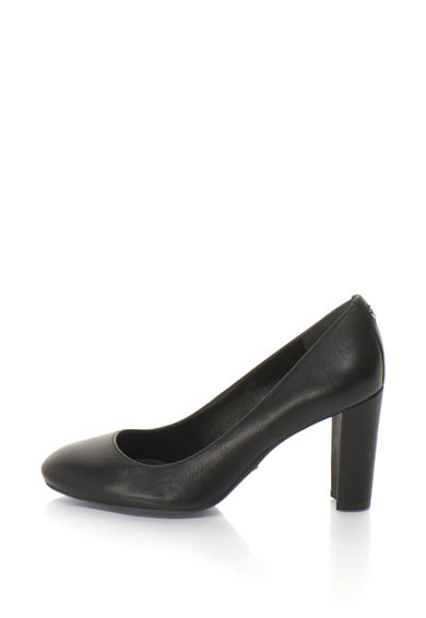 Lauren Ralph Lauren Pantofi din piele cu toc inalt Maddie Femei